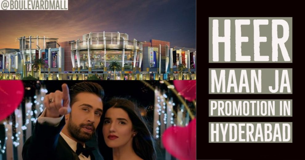 heer maan ja hyderabad promotion