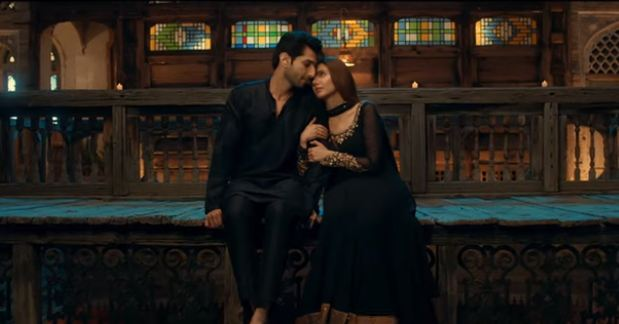 Mahira Khan and Bilal Ashraf Romantic Scene