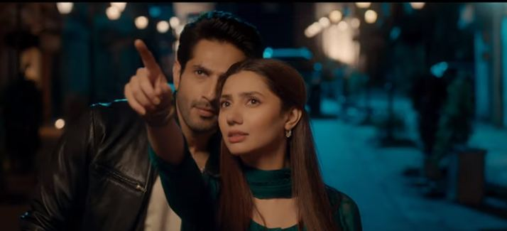 Mahira Khan and Bilal Ashraf in Movie Superstar