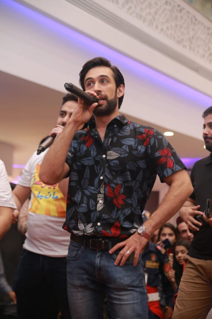 Heer Maan Ja Promotion 78 Ali Rehman Khan at Giga Mall