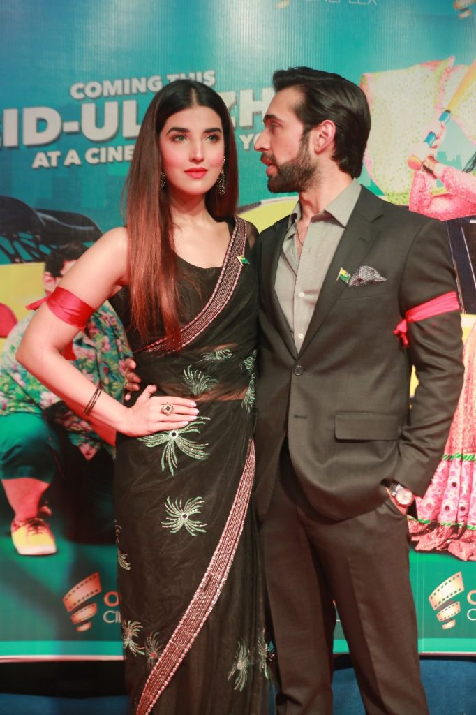 Heer Maan Ja Promotion 83 Ali Rehman and Hareem at Odeon cinema