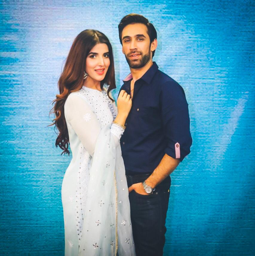 Heer Maan Ja Promotion 33 Ali Rehman and Hareem in Lahore