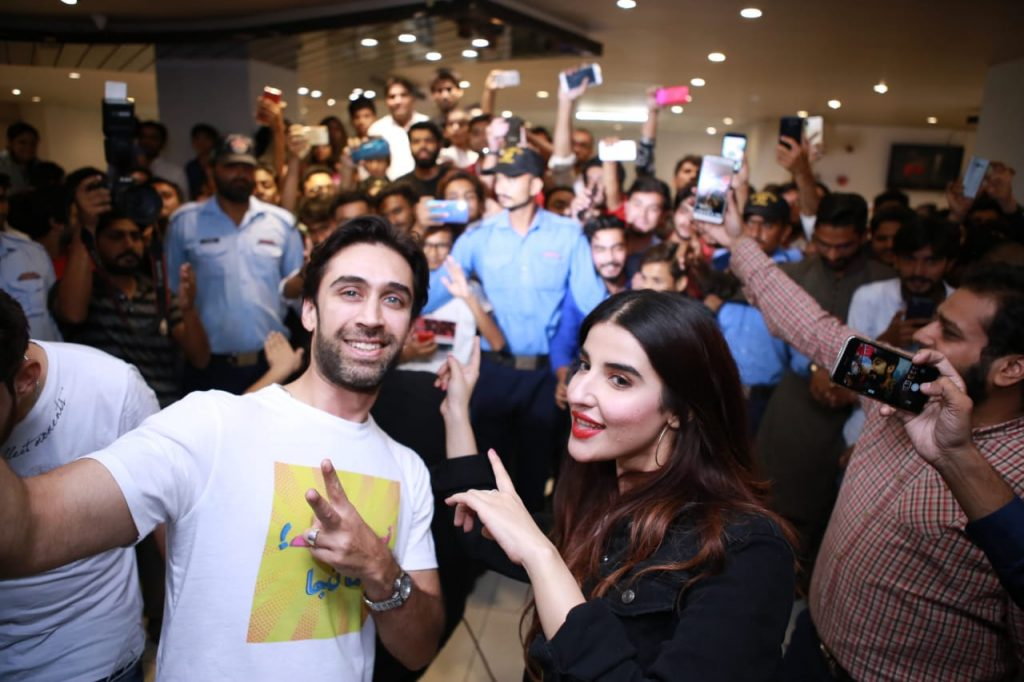 Heer Maan Ja Promotion 2 Ali Rehman and Hareem in Multan