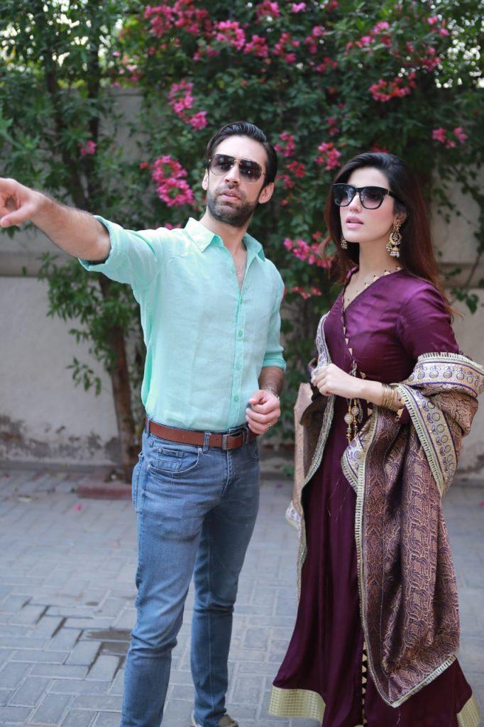 Heer Maan Ja Promotion 11 Ali rehman with Hareem