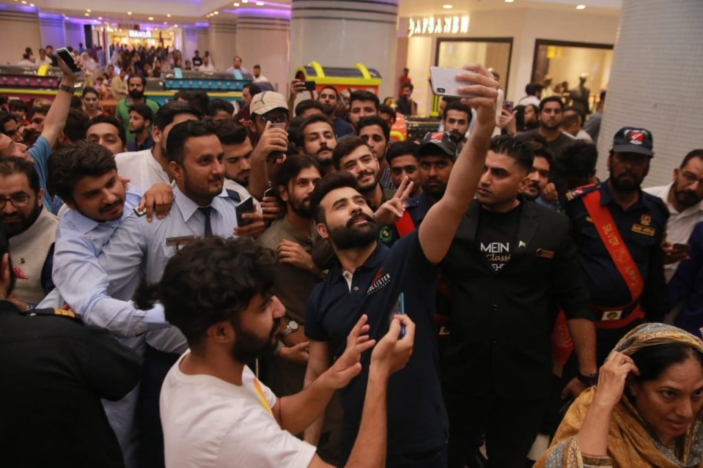 Heer Maan Ja Promotion 80 Faizan Shaikh at Giga Mall