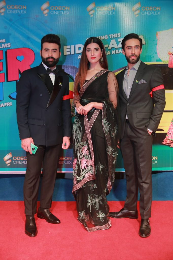 Heer Maan Ja Promotion 89 Faizan shaikh Hareem Farooq and Ali Rehman at ODEON cinema