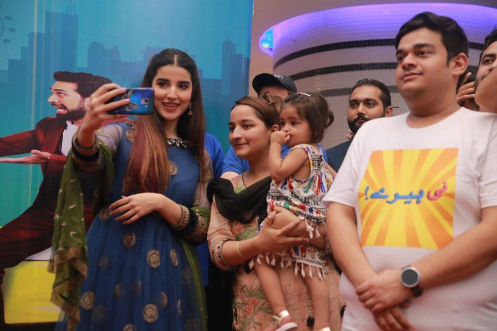 Heer Maan Ja Promotion 79 Hareem Farooq at Heer maan ja promotion