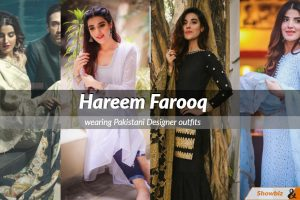 Hareem Farooq dress