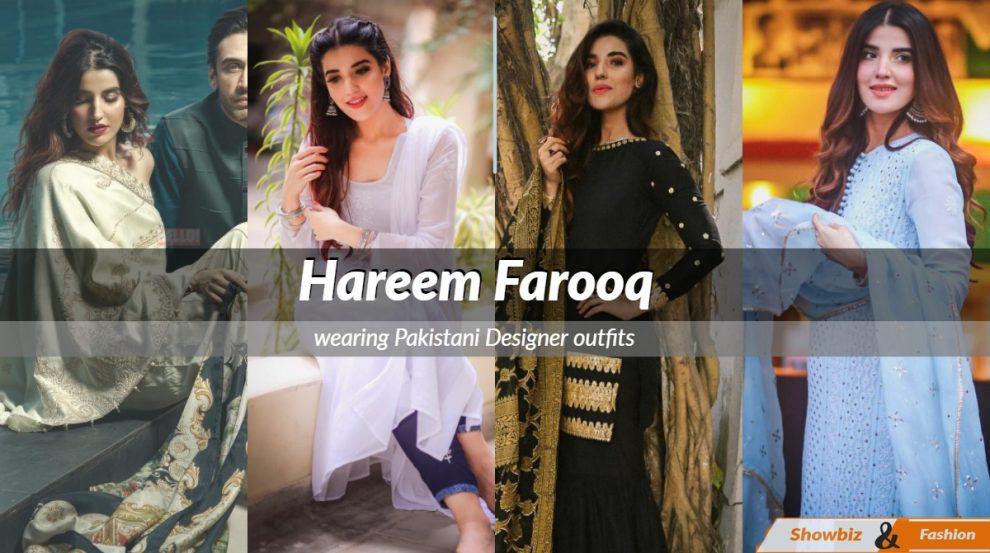 Hareem Farooq dress