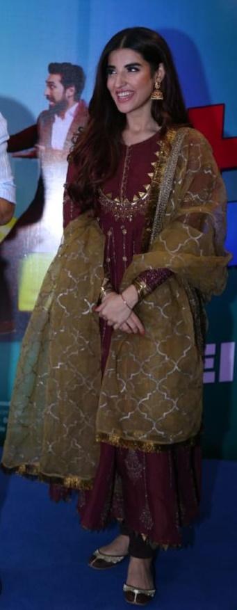 Hareem Farooq Wardrobe By Pakistani Designers | wearing Maria B 28 Hareem Farooq in Maria B Eid Collection