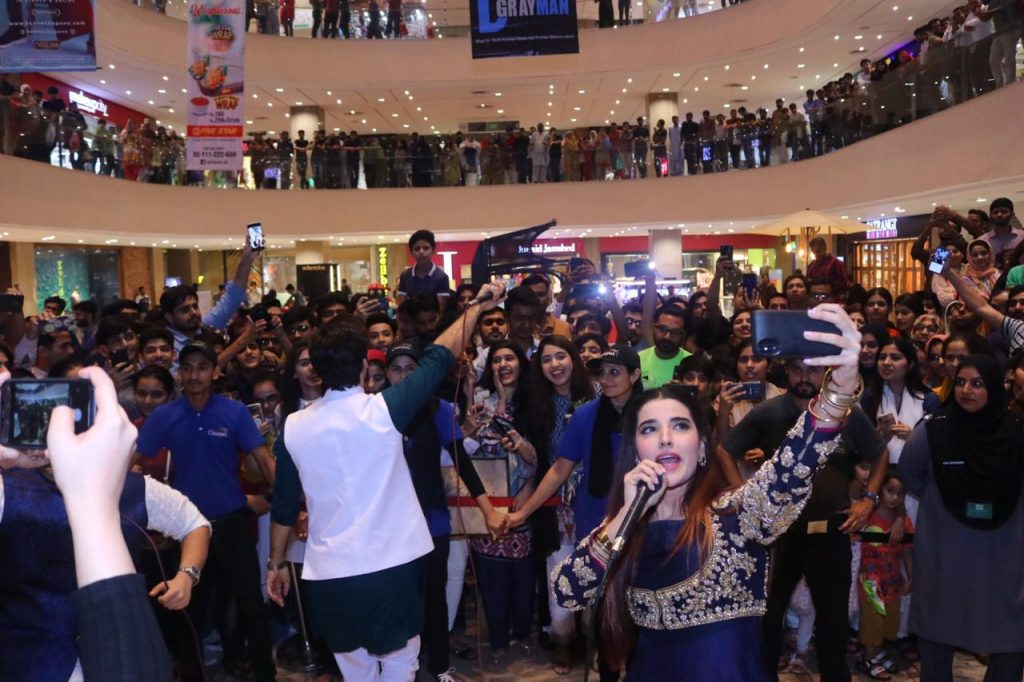 Heer Maan Ja Promotion 44 Hareem at fortress mall lahore