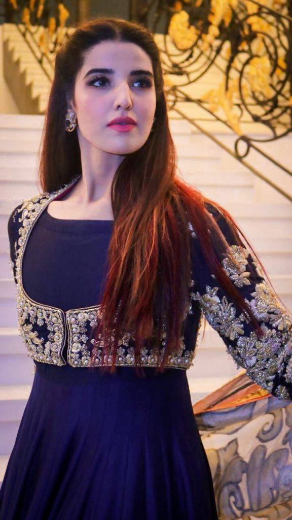 Hareem Farooq Wardrobe By Pakistani Designers | wearing Maria B 34 Hareem farooq wearing Souchaj studio
