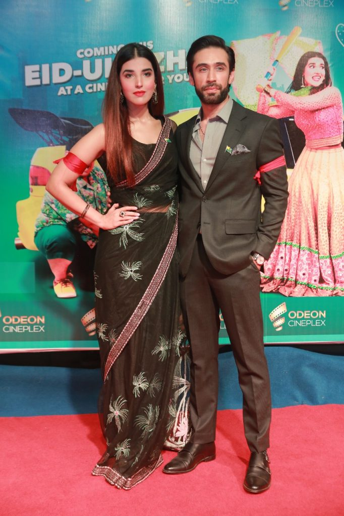 Heer Maan Ja Promotion 87 Hareem farooq with Ali Rehman Khan at Odeon Cinema