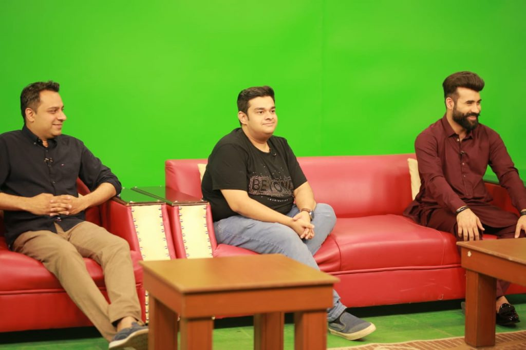 Cast of Heer Maan ja at PTV morning show
