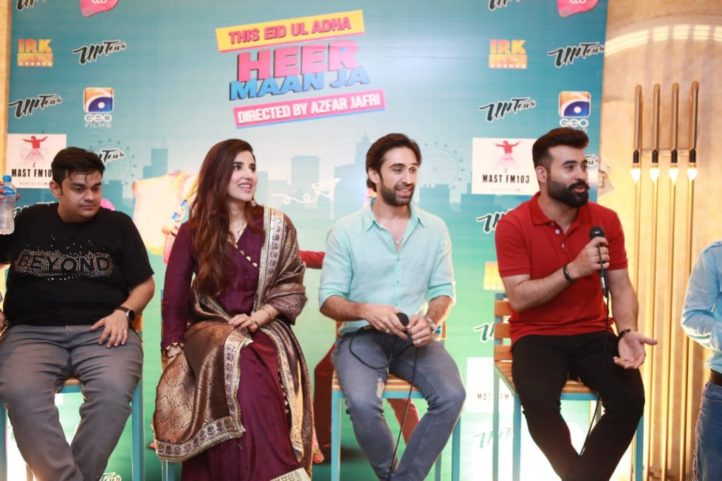 Heer Maan Ja Promotion 32 Heer maan ja cast interview