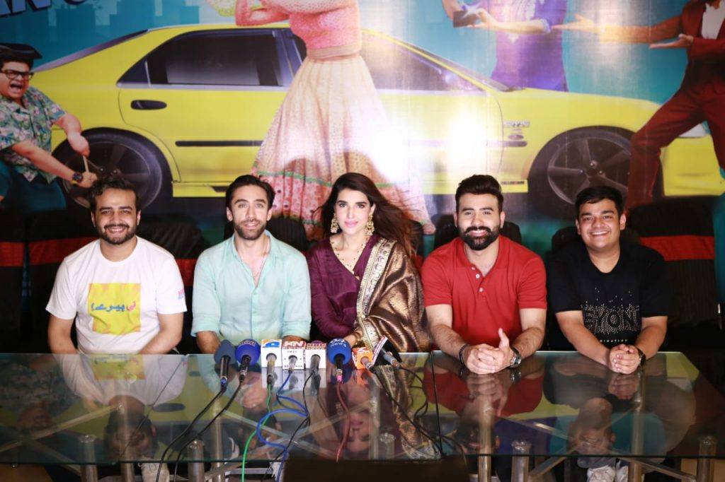 Heer Maan Ja Promotion 27 Heer maan ja press conference