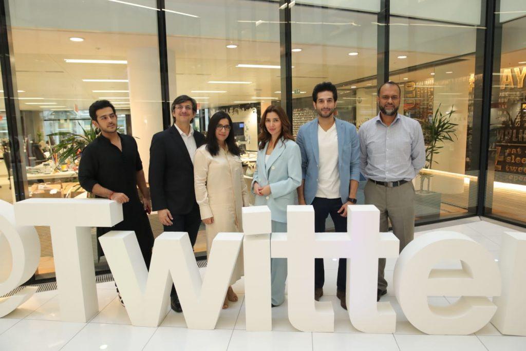 Mahira Khan visits Twitter HQ with Bilal Ashraf in London 9th August 2019 2 Mahira khan and bilal Ashraf at Twitter London
