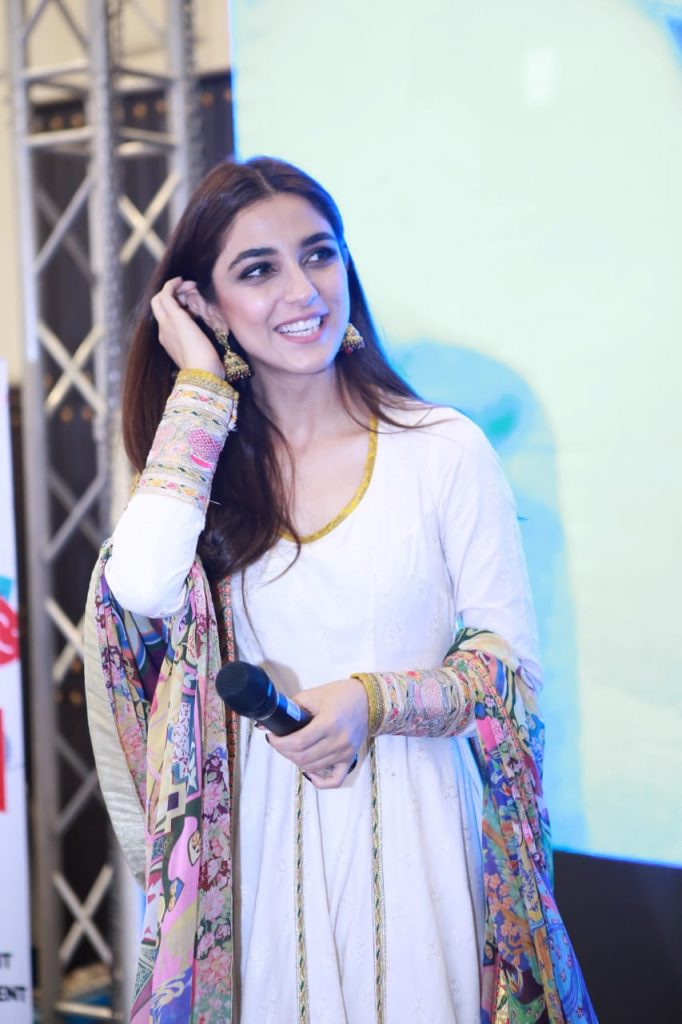 Parey Hut Love Promotions 2019| Dates , Dressing, Cast 16 Maya Ali candid shot