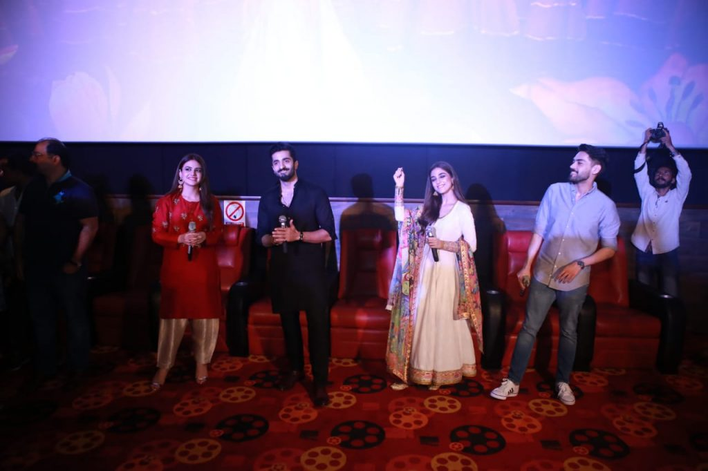 Parey Hut Love Promotions 2019| Dates , Dressing, Cast 4 Parey Hut love cast at Nagina cineplex