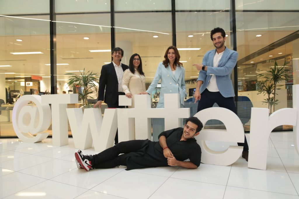 Mahira Khan visits Twitter HQ with Bilal Ashraf in London 9th August 2019 3 Super star cast visit twitter headquarter in london 1