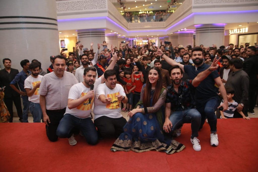 Heer Maan Ja Promotion 82 Team Heer Maan Ja at Giga Mall