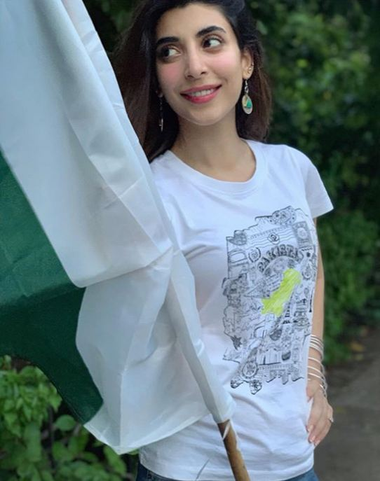 Urwa Hocane on Independence Day