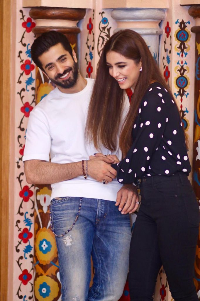 Sheheryaar Munawar and Maya Ali in Lahore