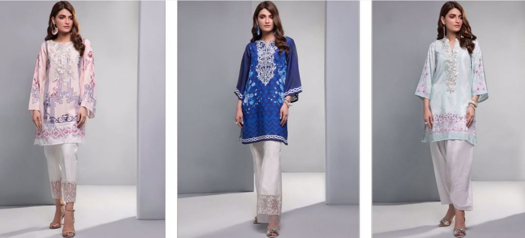 Zainab Chottani Casual Pret Wear 2019