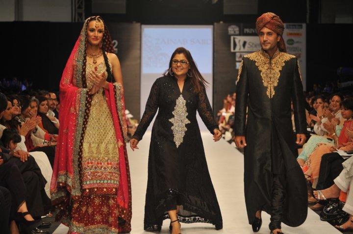 Zainab Chottani Pantene Bridal Couture Week