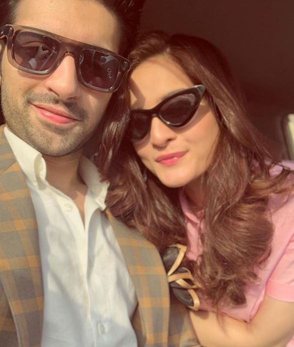 Aiman Khan and Muneeb Butt