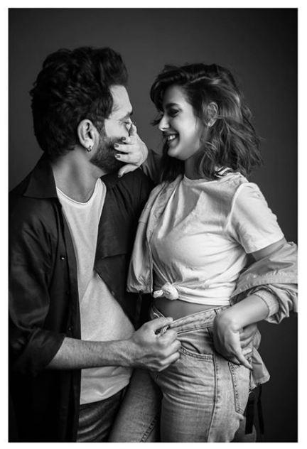 Iqra Aziz and Yasir Hussain latest photoshoot