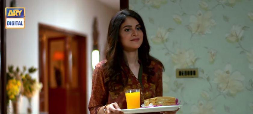Arij Fatyma in Hasad second last episode