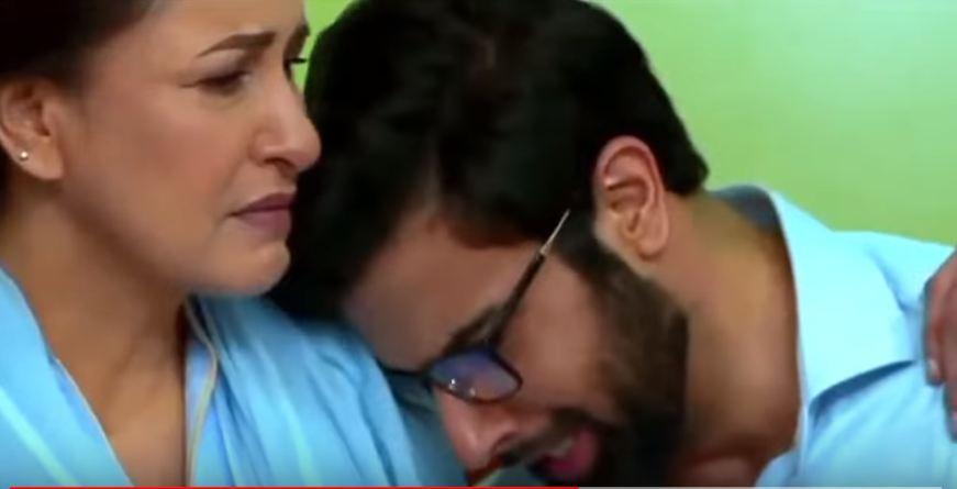 Noor Hassan in Hasad last episode