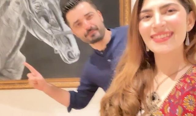 Hamza Ali Abbasi Getting Married to Naimal Khawar Khan