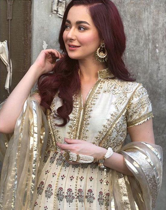 Hania Amir Anarkali Frock