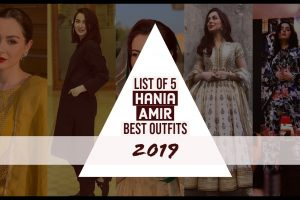 hania amir best outfits 2019