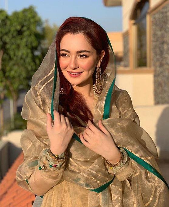 Hania Amir Eid Dress