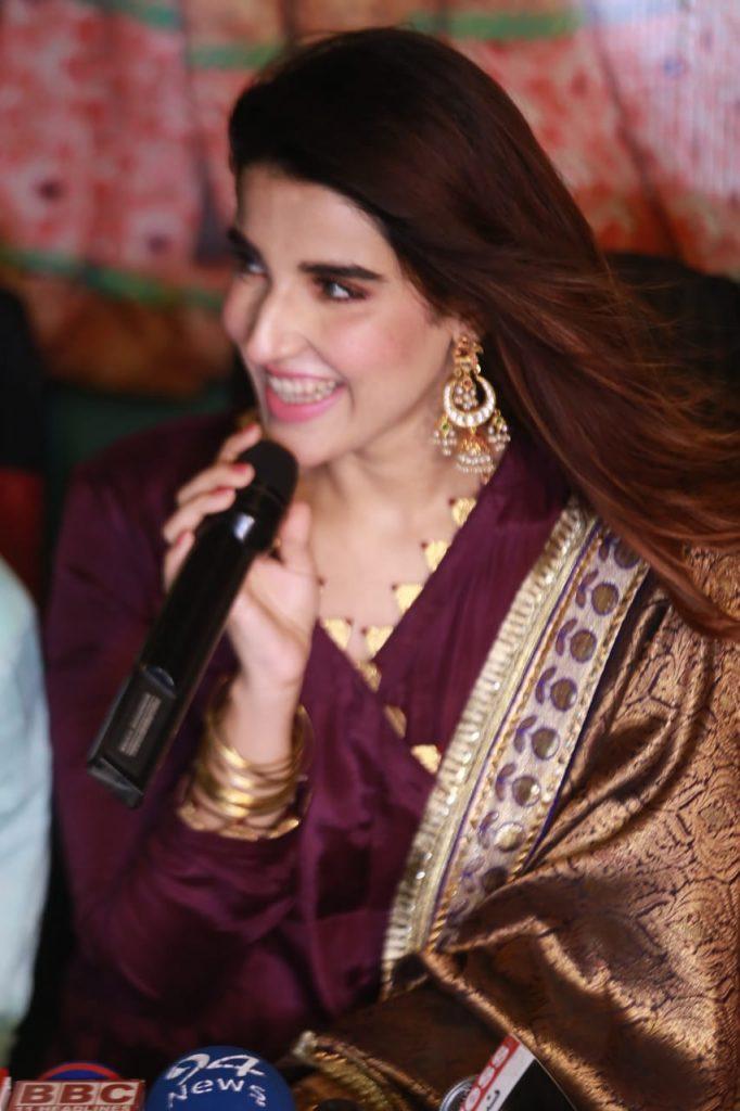Heer Maan Ja Promotion 23 hareem Farooq actress