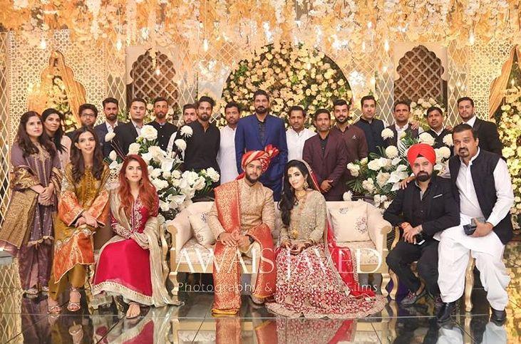 Imad Waseem Marriage with Sania Ashfaq