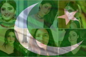 Pakistani Actresses Independence Day