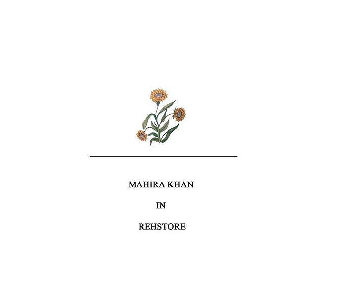 Mahira Khan wearing Rehstore pk