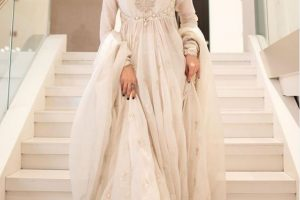 Mahira Khan white dress