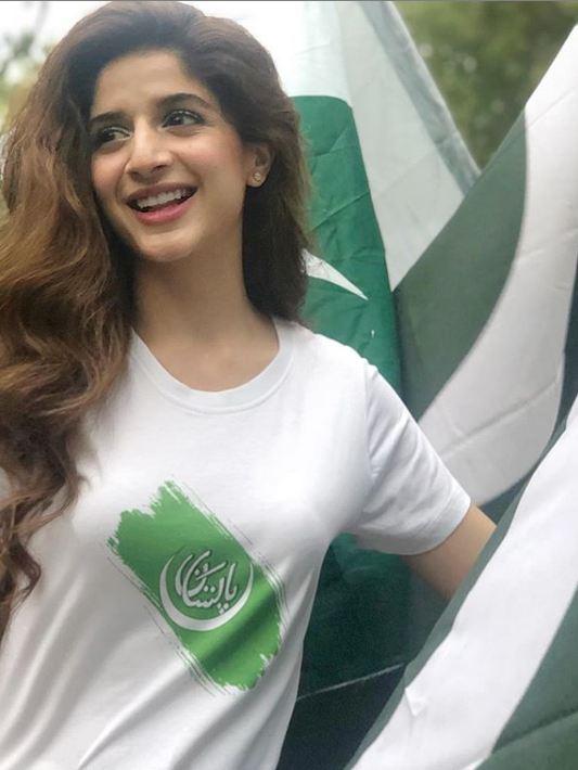 Mawra Hocane on Independence Day