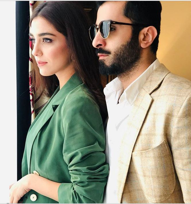 Maya Ali and Sheheryaar Munawar in Islamabad