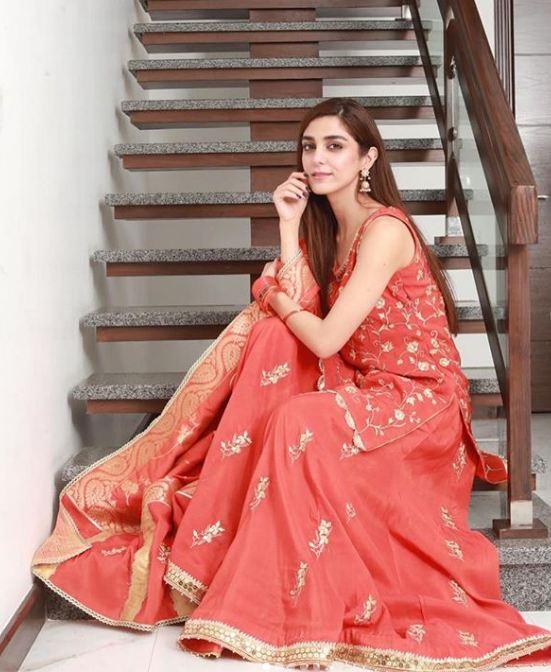 Beautiful Maya Ali Eid Outfits 2019 - YES or NO? 2 maya ali eid day 2