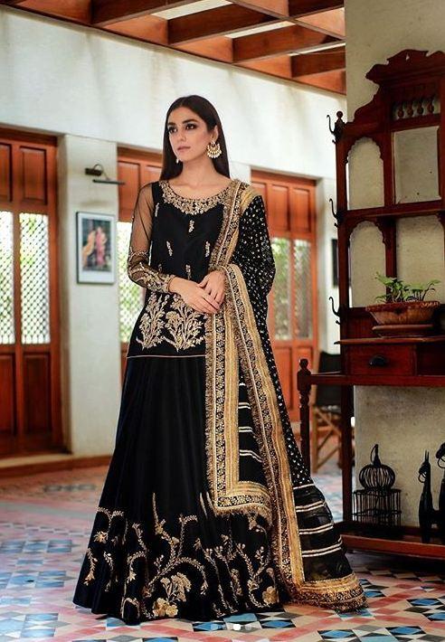 Beautiful Maya Ali Eid Outfits 2019 - YES or NO? 1 maya ali eid outfit 2019