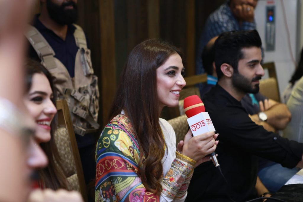 Parey Hut Love Promotions 2019| Dates , Dressing, Cast 9 maya ali press conference in faisalabad