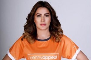 Mehwish Hayat Joins Global Charity Penny Appeal
