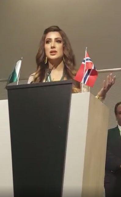 Mehwish Hayat Speech in Norway