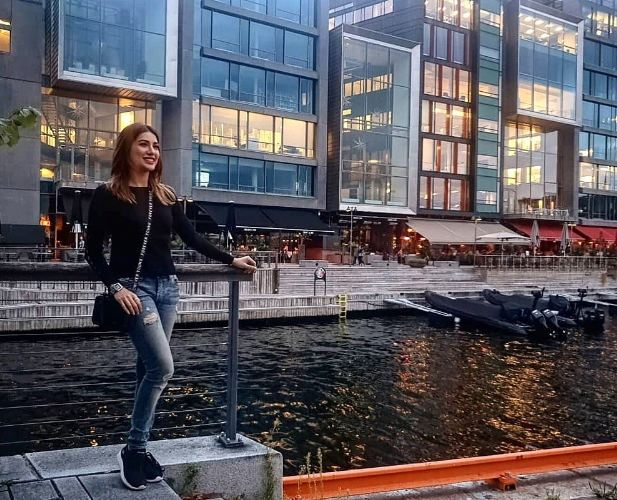 Mehwish Hayat in Norway